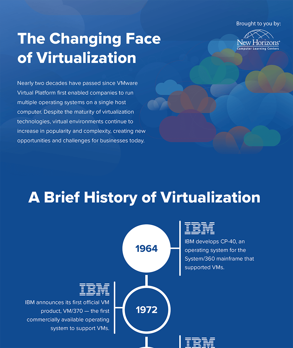 Virtualization Infographic